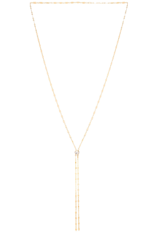 MIMI & LU Bentley Necklace in Metallic Gold
