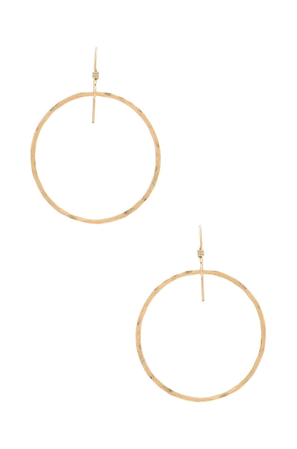 Mimi & Lu Jackson Earrings in Gold