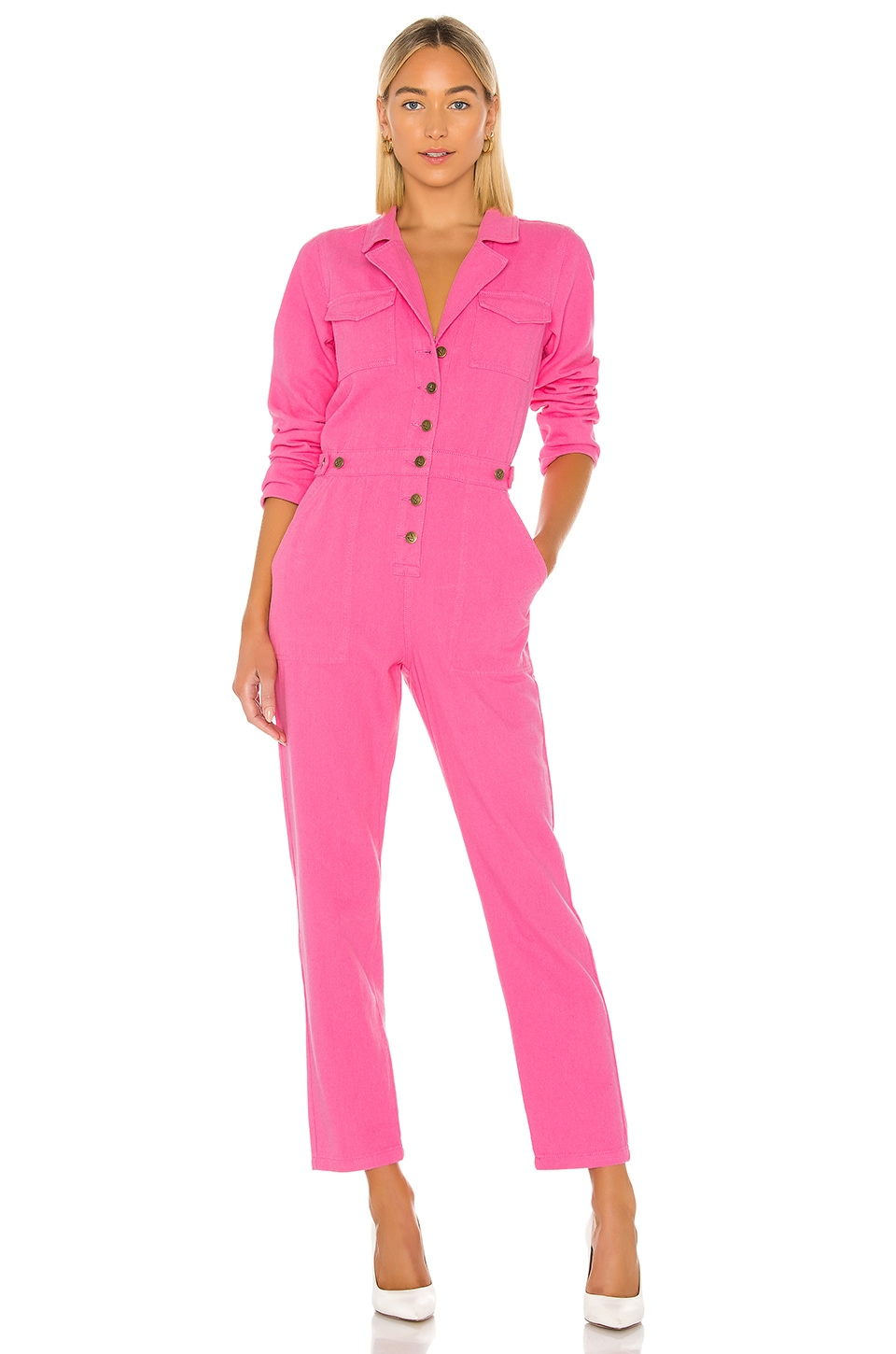 MINKPINK Kinetic Jumpsuit in Pink