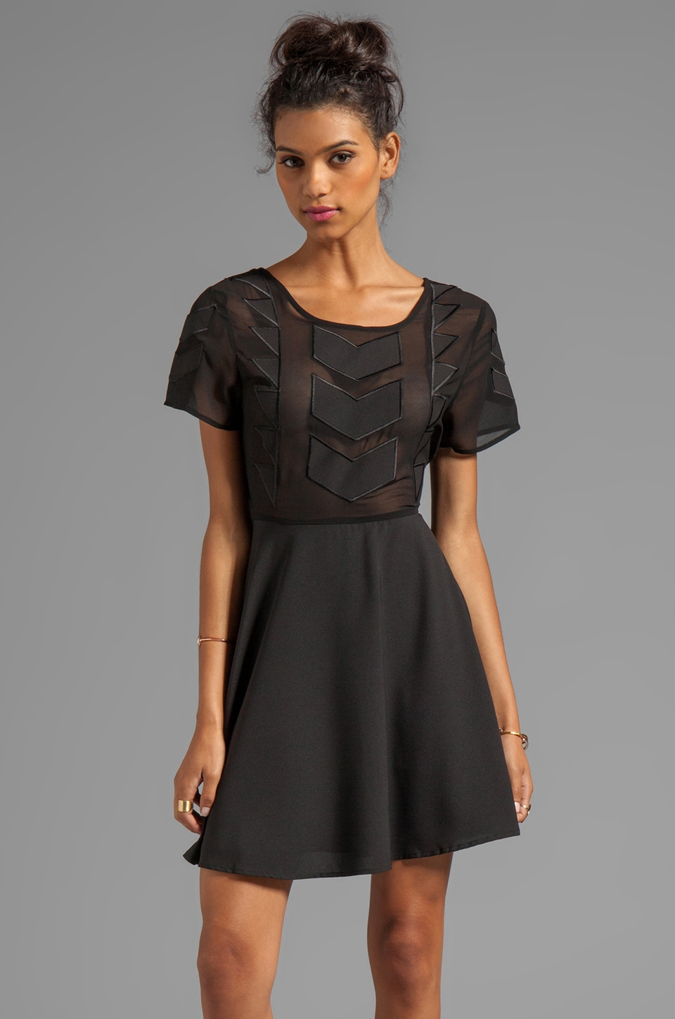 MINKPINK Zepher Dress in Black
