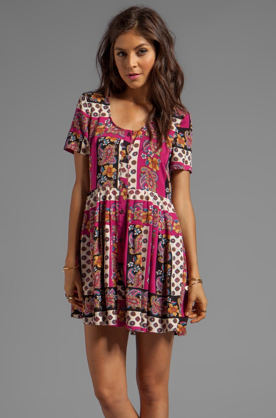 MINKPINK Princess of Persia Dress in Multi