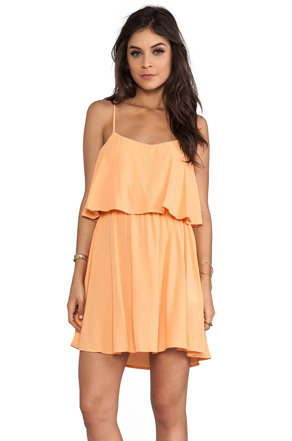 MINKPINK California Tank Sundress in Mandarin