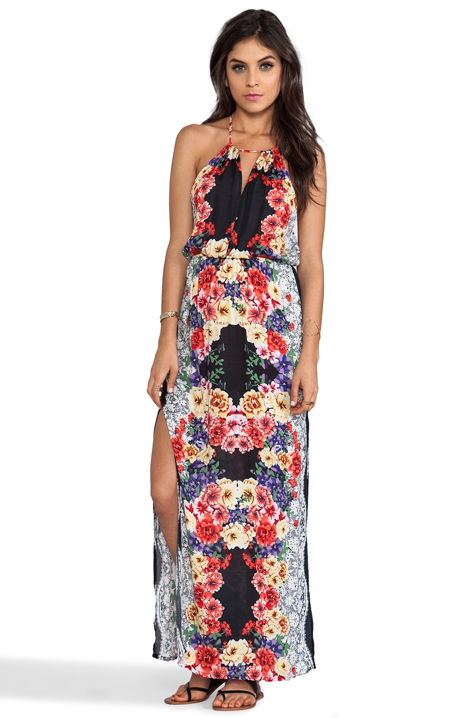 MINKPINK Lacey's Choice Maxis Dress in Multi