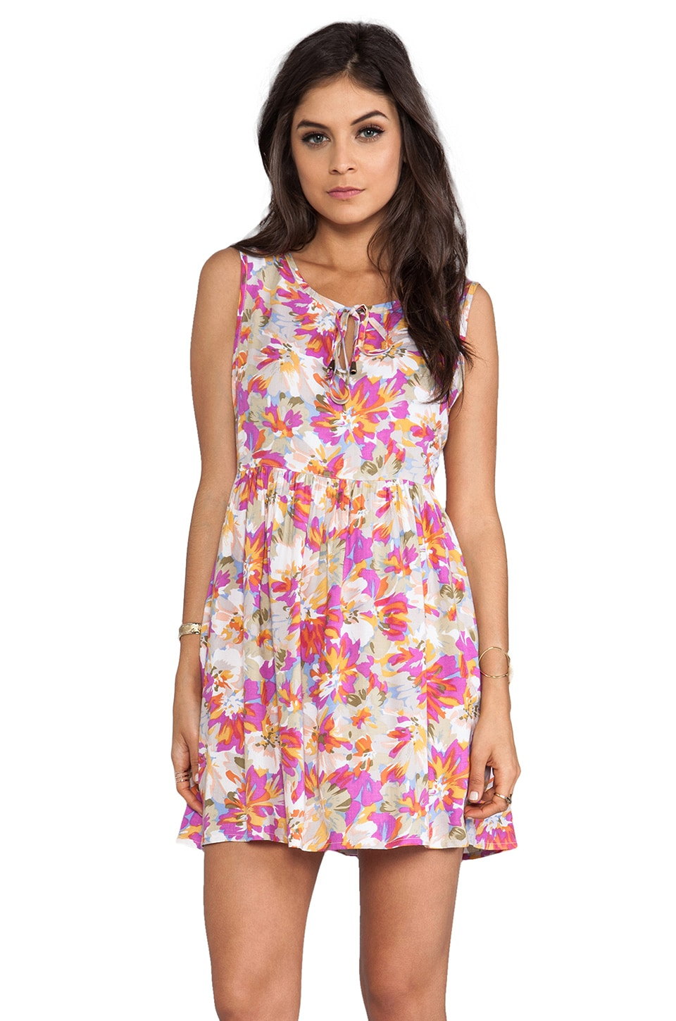 MINKPINK Hey Delilah Mini Dress in Multi