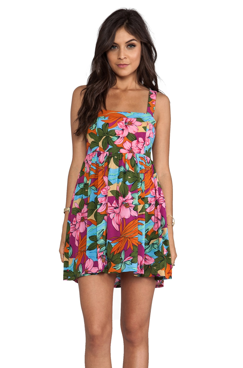 MINKPINK Copacabana Mini Dress in Multi