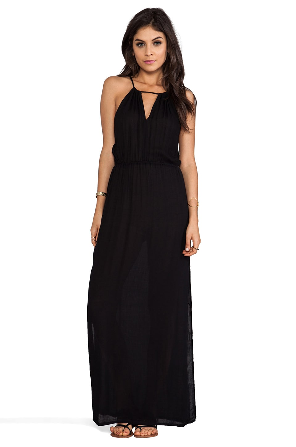 MINKPINK Glamourama Maxi Dress in Black