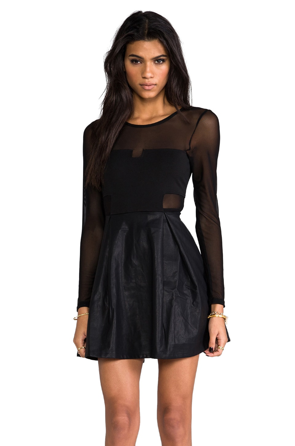 MINKPINK Pump Up the Glam Dress in Black