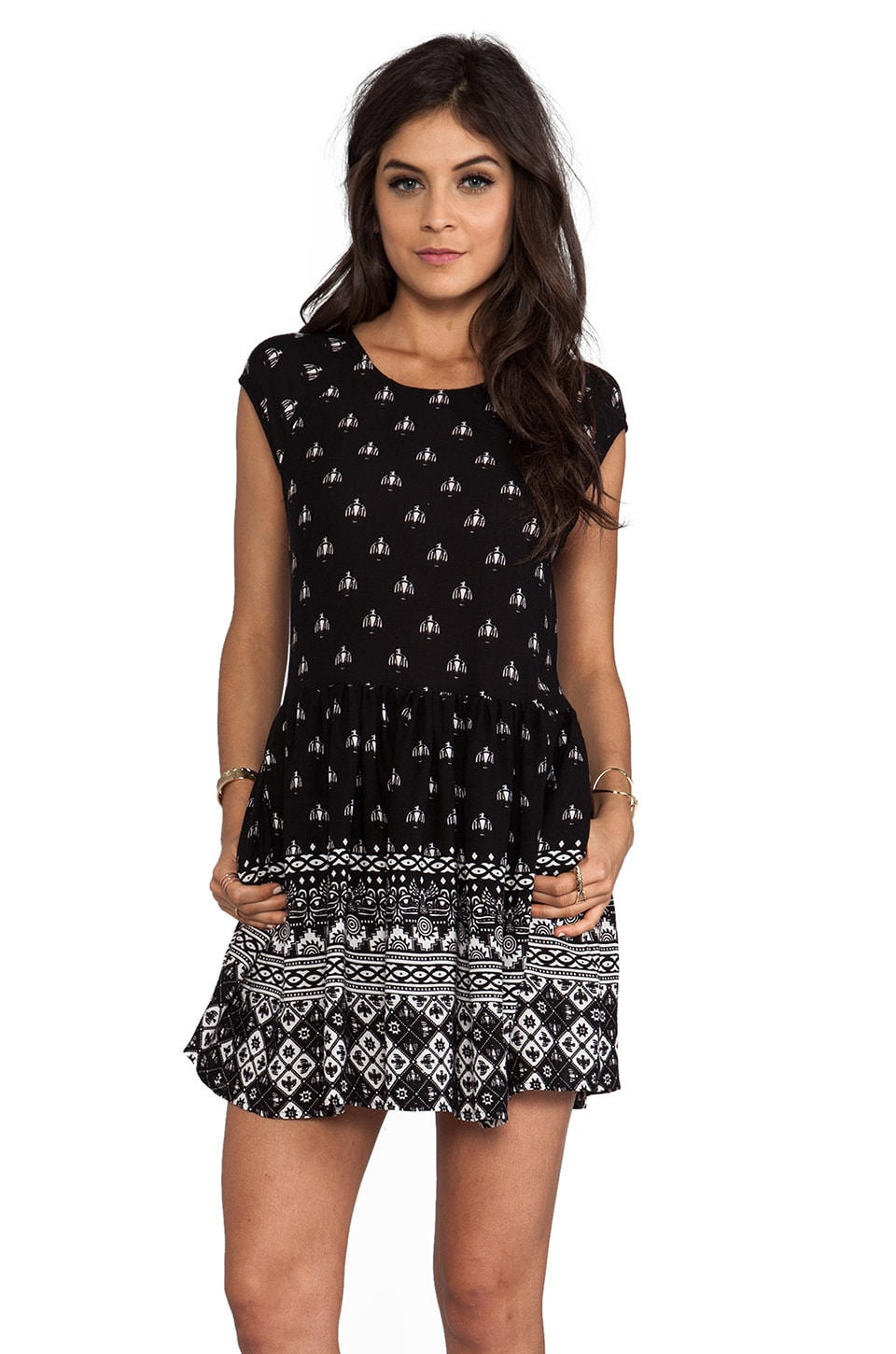 MINKPINK Native Nights Dress in Multi