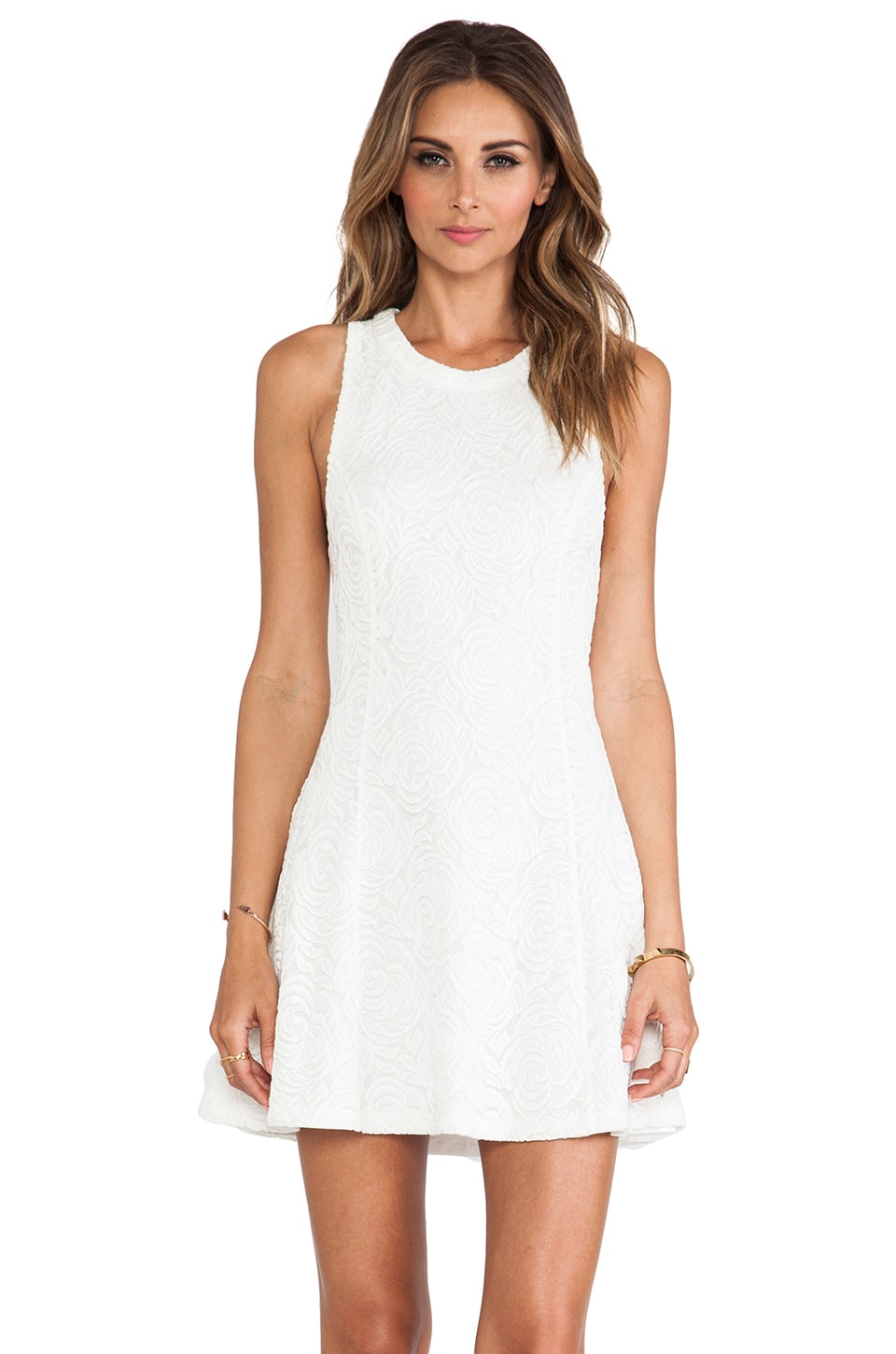 MINKPINK Friday I'm In Love Dress in White