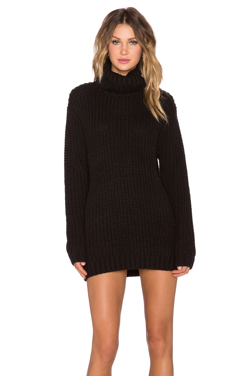 MINKPINK Another Night Dress in Black