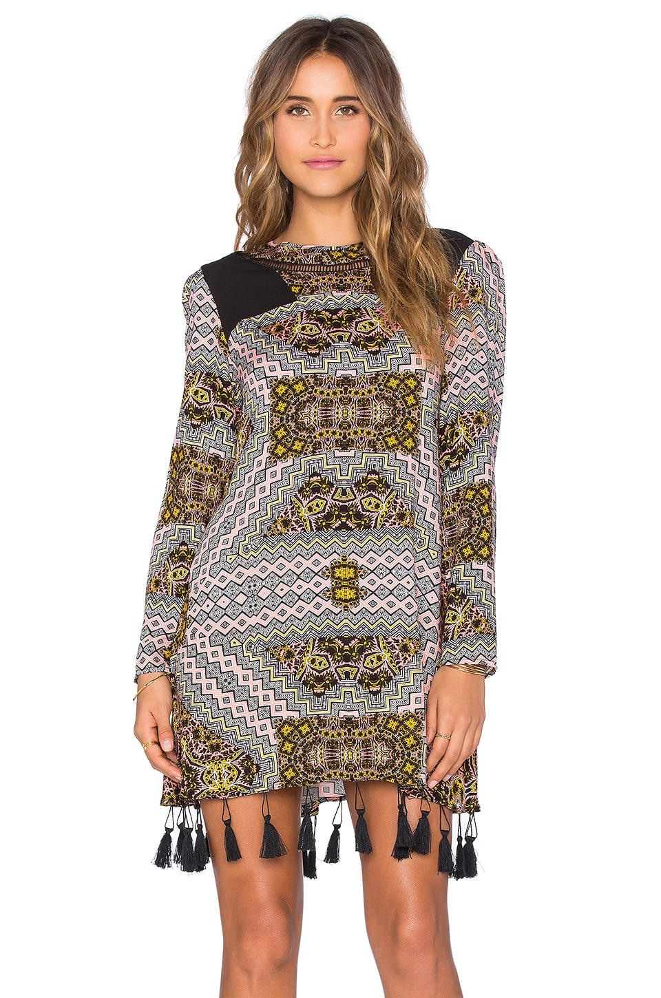 MINKPINK Techno Tribe Mini Dress in Multi