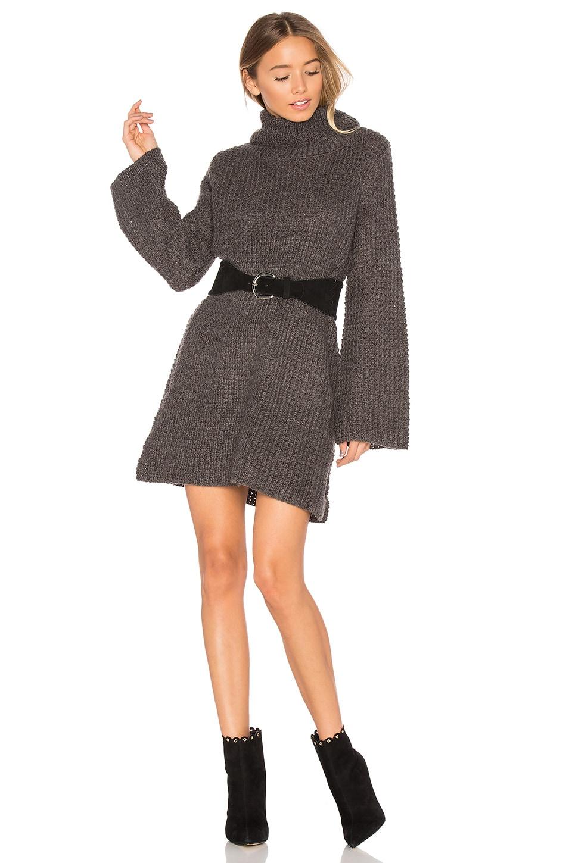 High Neck Knit Dress by MINKPINK