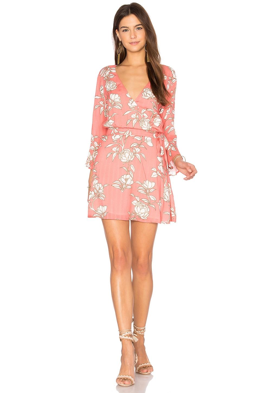 MINKPINK Lovina Wrap Dress in Multi