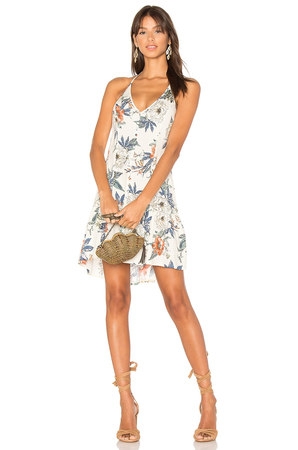Garden Party Halter Dress by MINKPINK