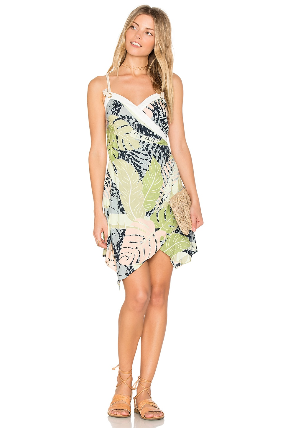 Aloha Cross Over Dress by Minkpink