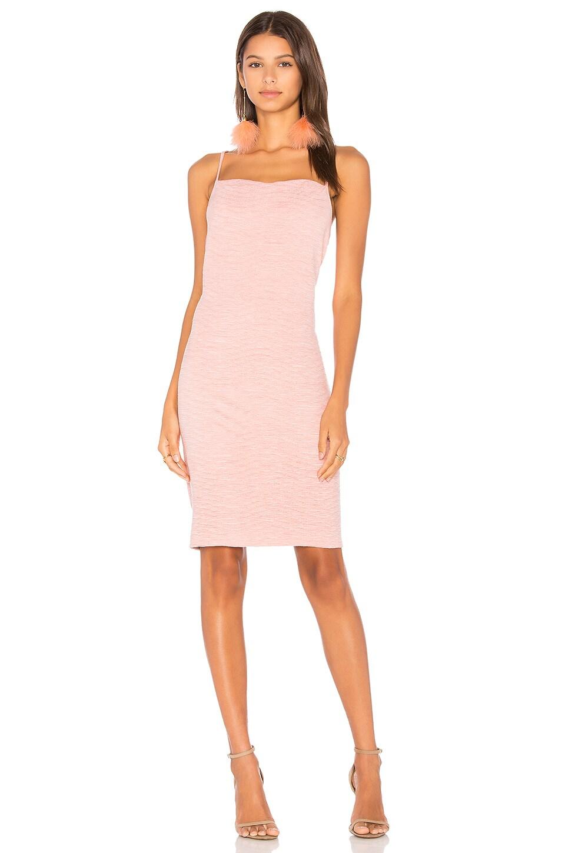 Textured Suede Cowl Slip Dress by Minkpink