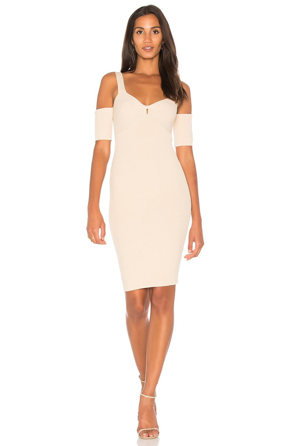 Francis Cold Shoulder Knit Dress by MINKPINK