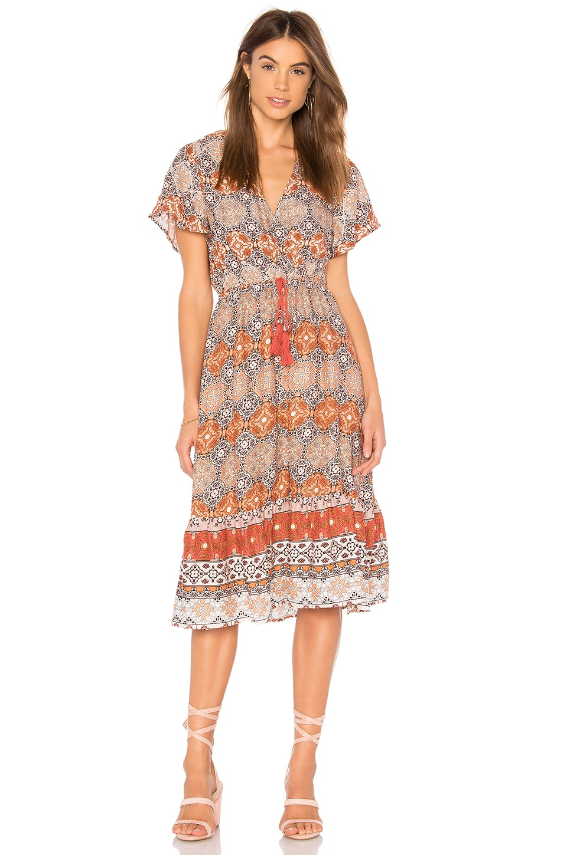MINKPINK Days In Marrakesh Midi Dress in Multi