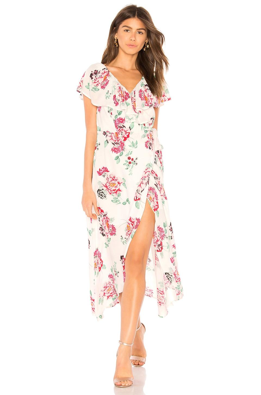 Pretty Petals Wrap Dress