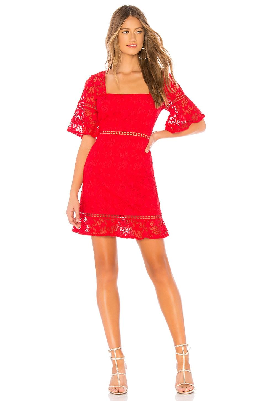 MINKPINK Starstruck Dress in Red