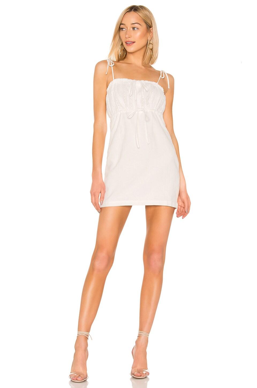 MINKPINK Julep Lace Dress in White