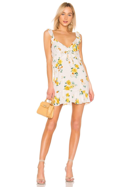 MINKPINK Lemon Bloom Mini Dress in Multi