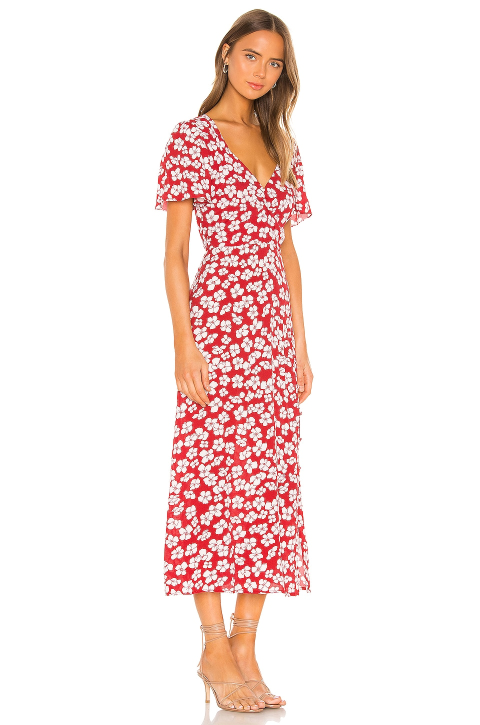 Between You And I Midi Dress, view 2, click to view large image.