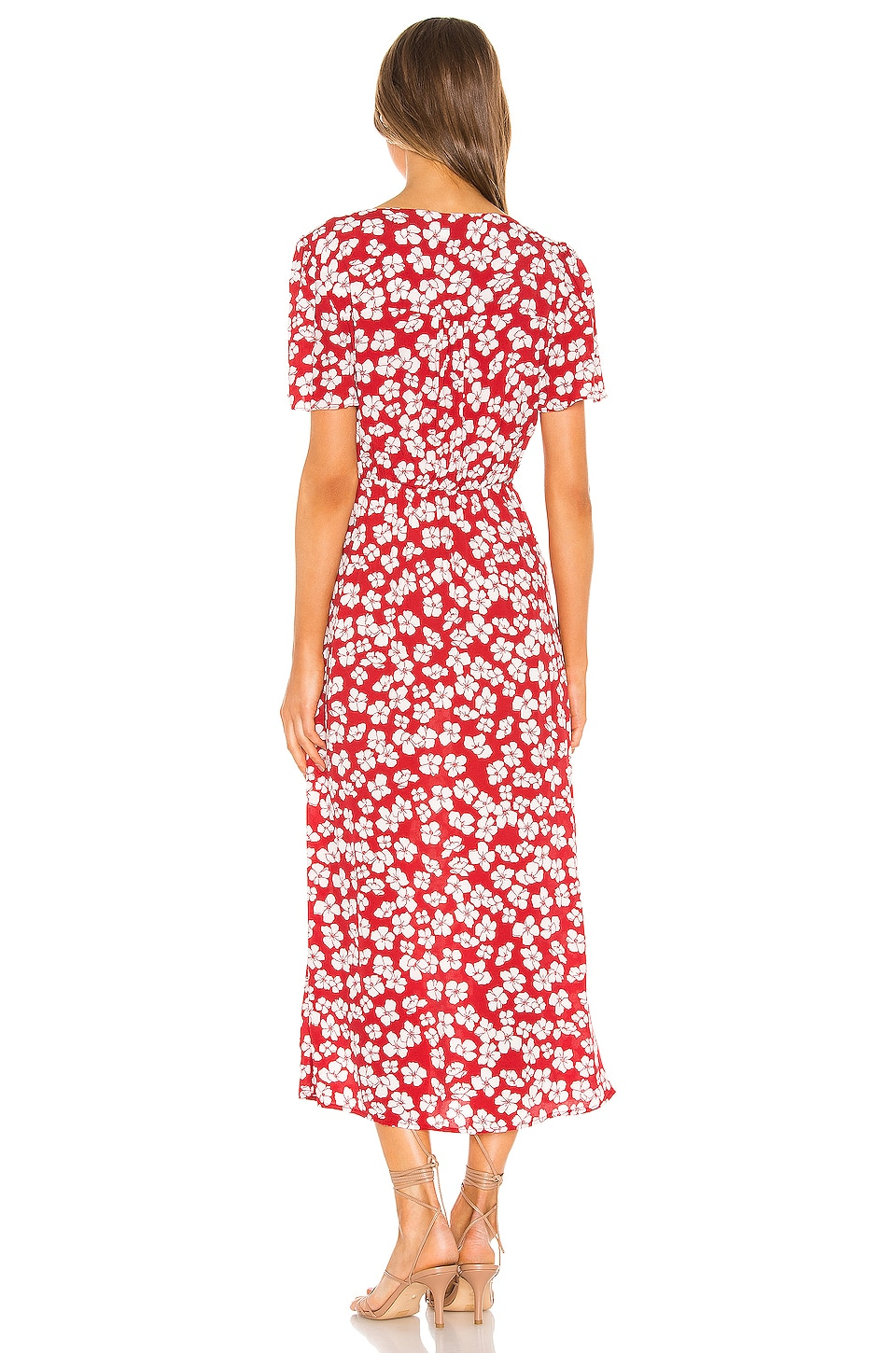 Between You And I Midi Dress, view 3, click to view large image.