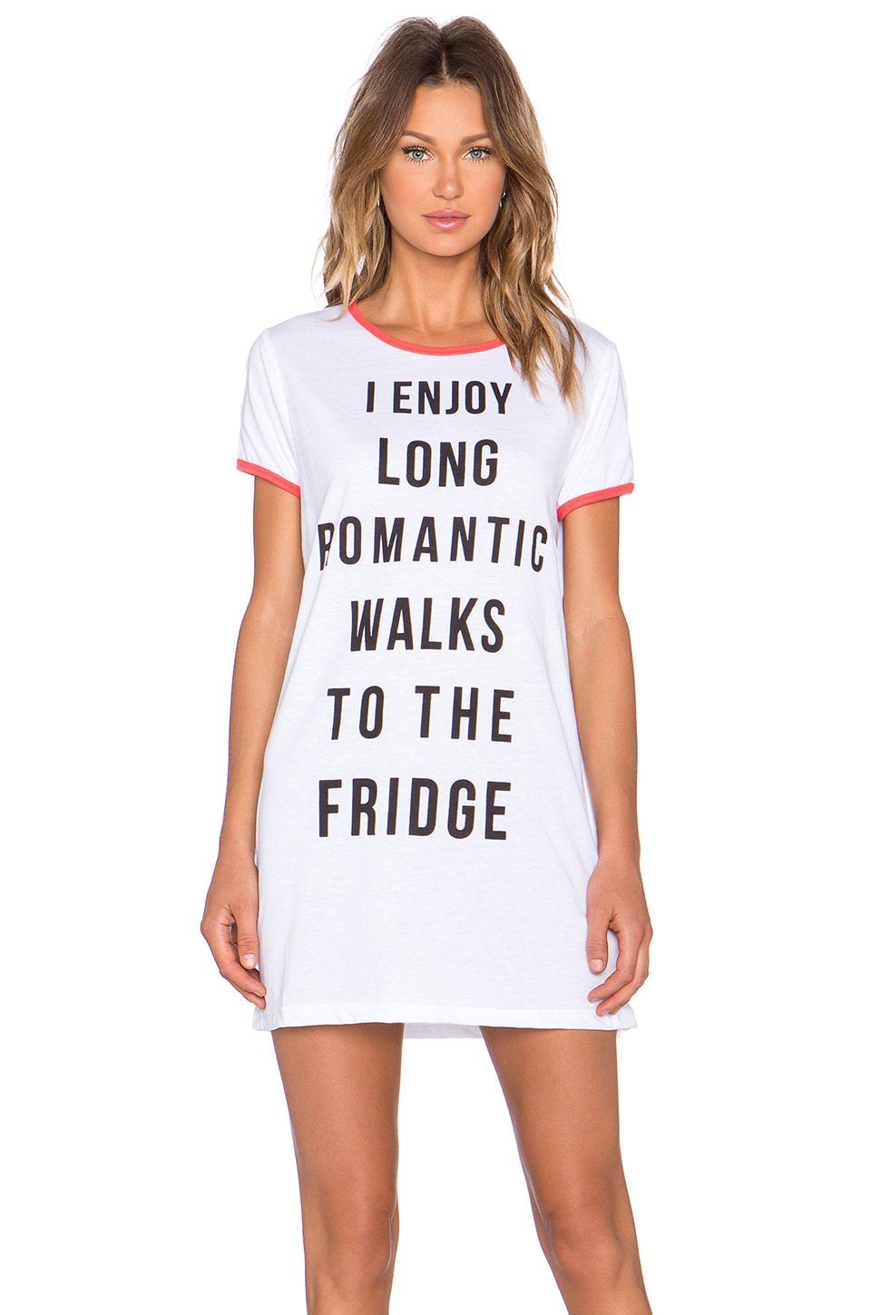 MINKPINK ROBE T-SHIRT ROMANTIC WALKS