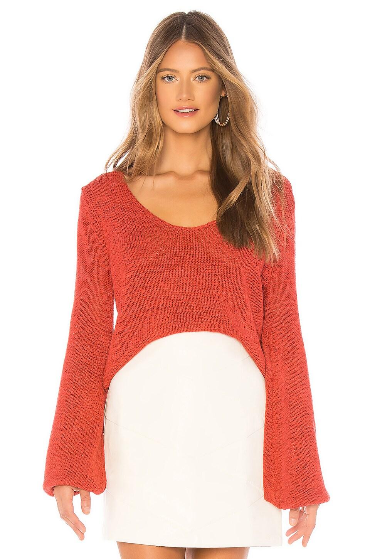 MINKPINK Lauren Jumper in Red