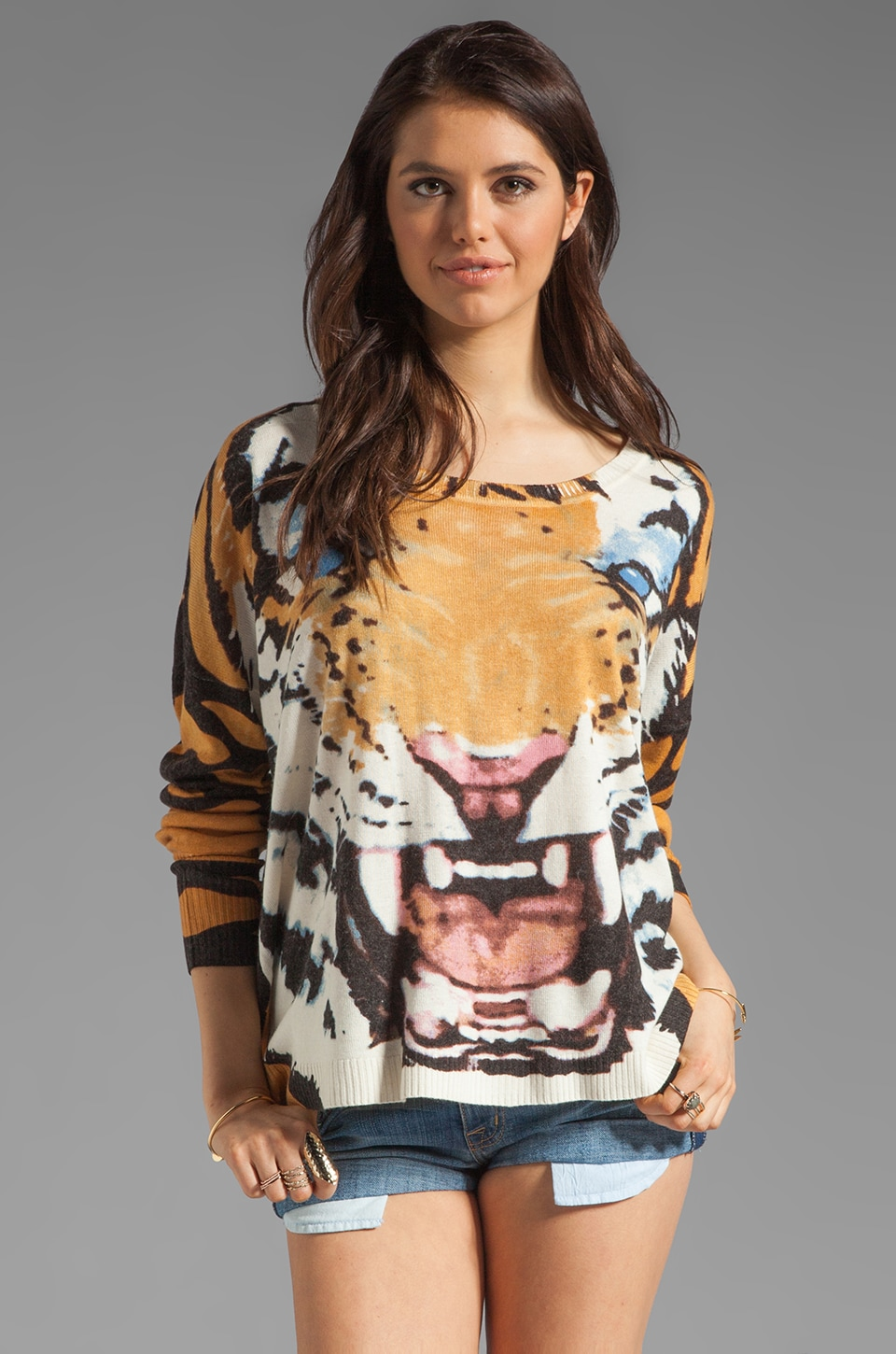 MINKPINK Roar Printed Jumper in Multi