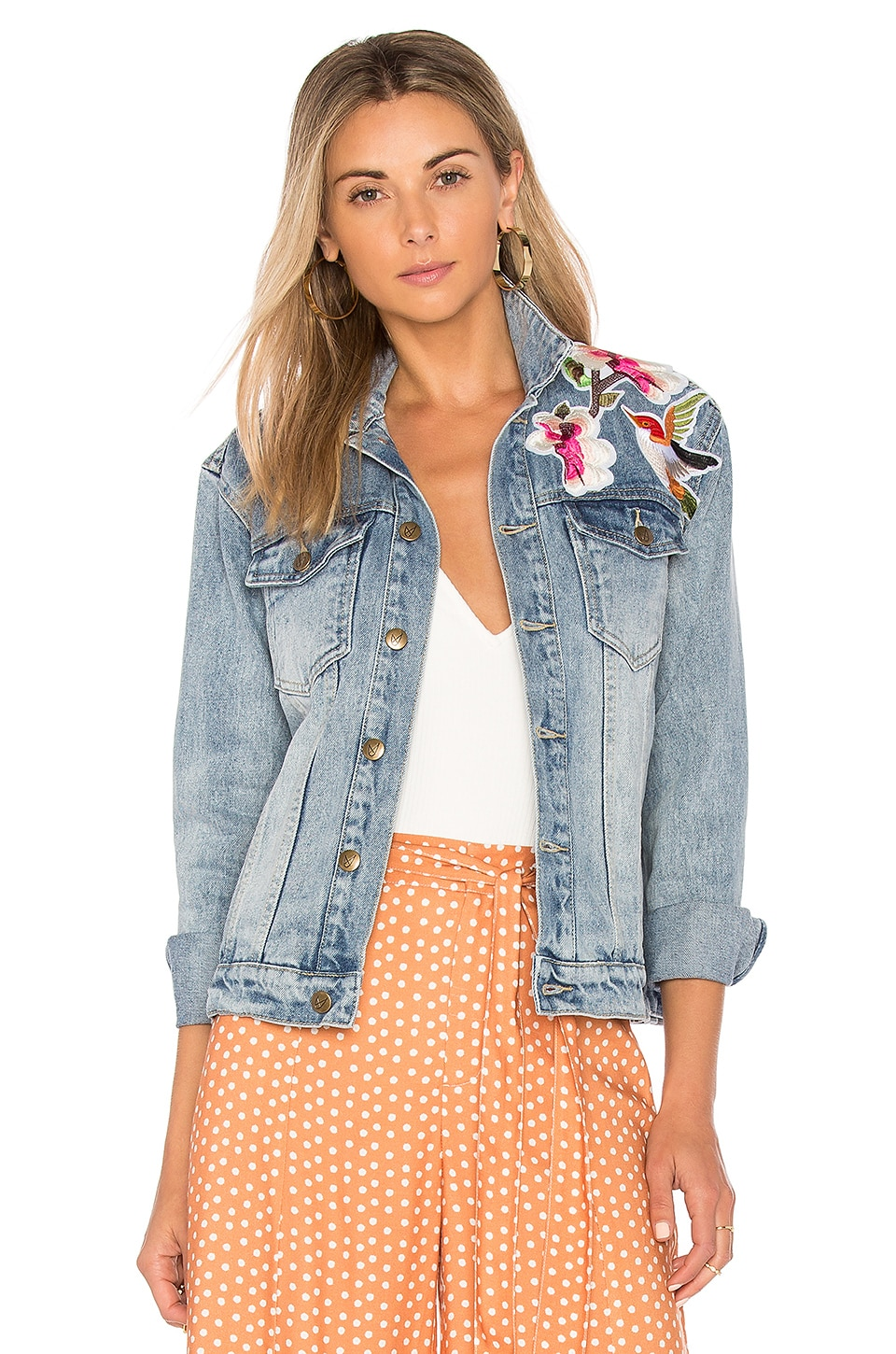 Blossom Patch Jacket by MINKPINK