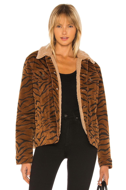 MINKPINK Wild Woman Faux Fur Jacket in Animal