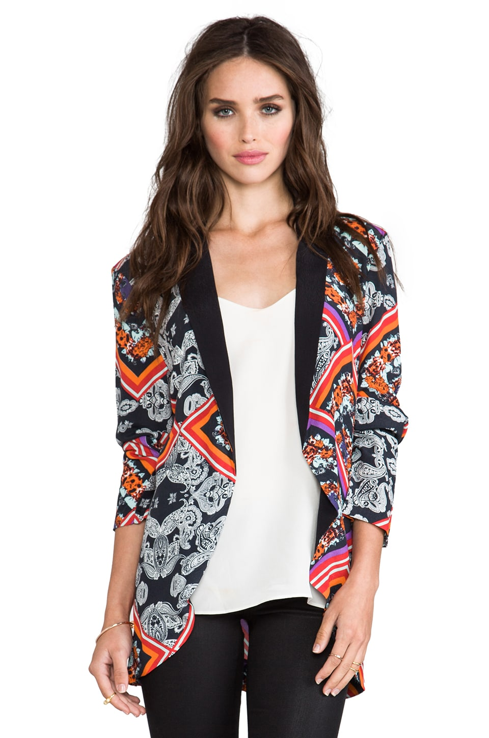 MINKPINK Lay Lady Blazer in Multi