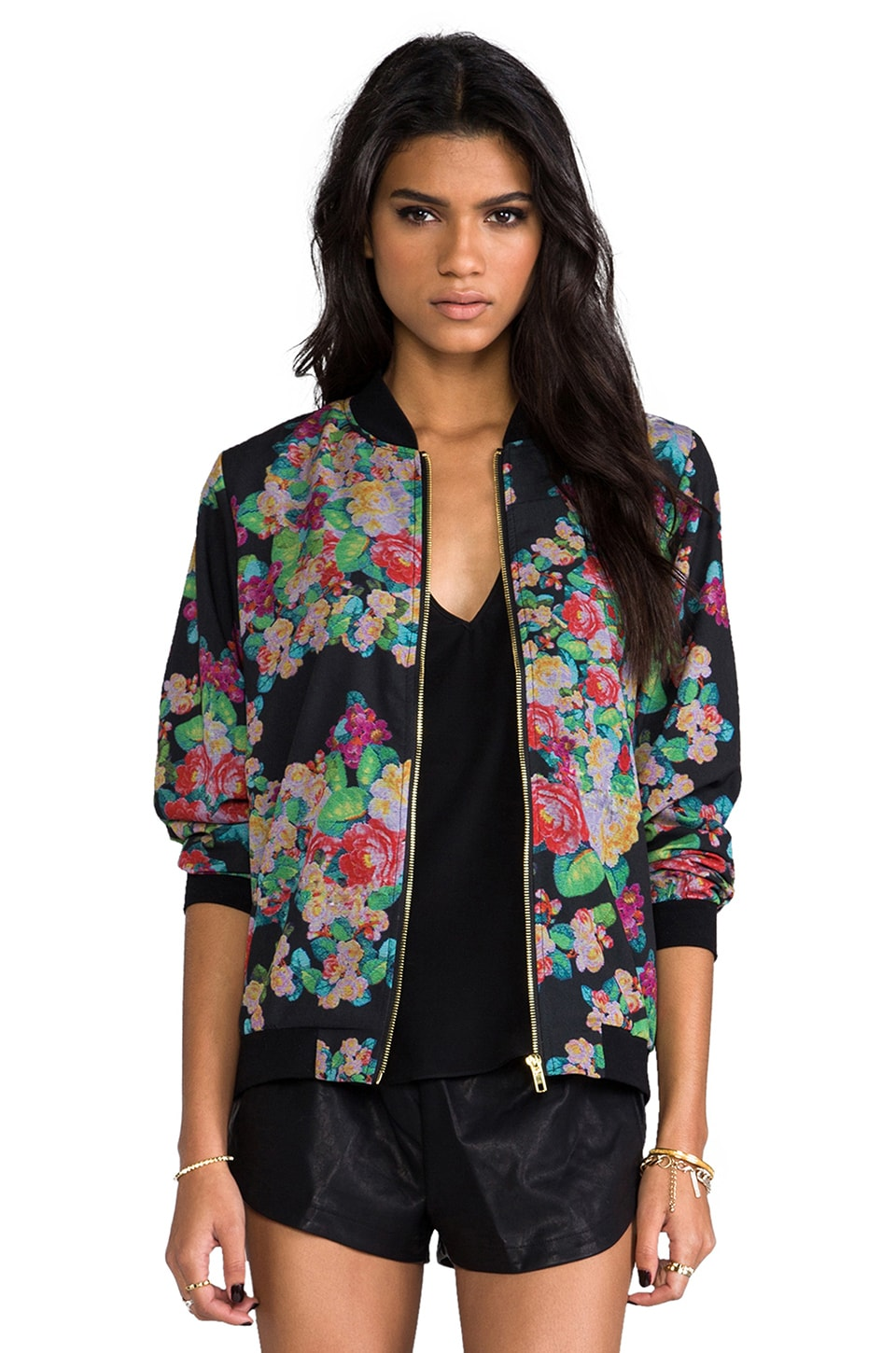 MINKPINK Poison Lover Jacket in Multi