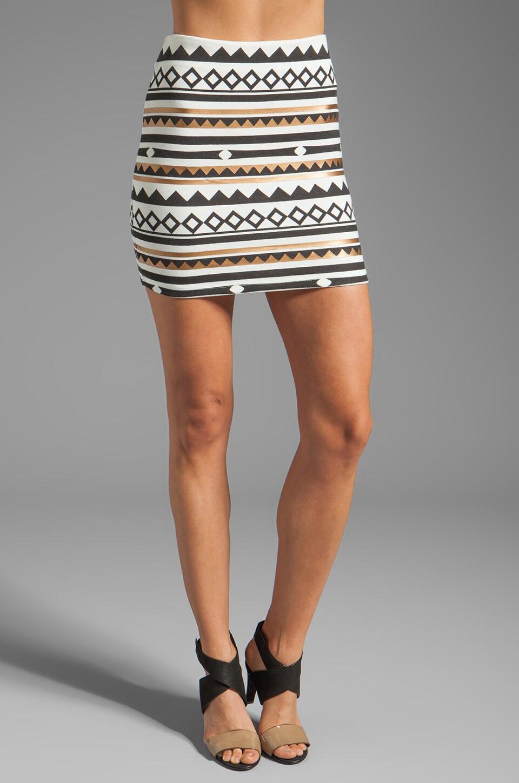 MINKPINK Gap Year Mini Skirt in Multi