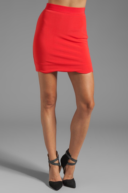 MINKPINK Roxanna Mini Skirt in Red