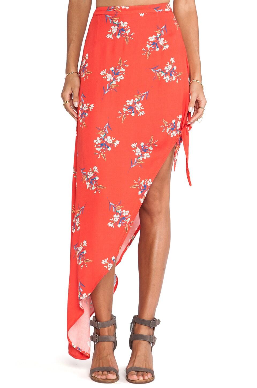 MINKPINK Flower Posy Skirt in Multi
