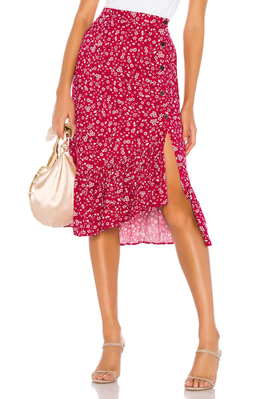 MINKPINK Sweet Like Me Midi Skirt in Multi
