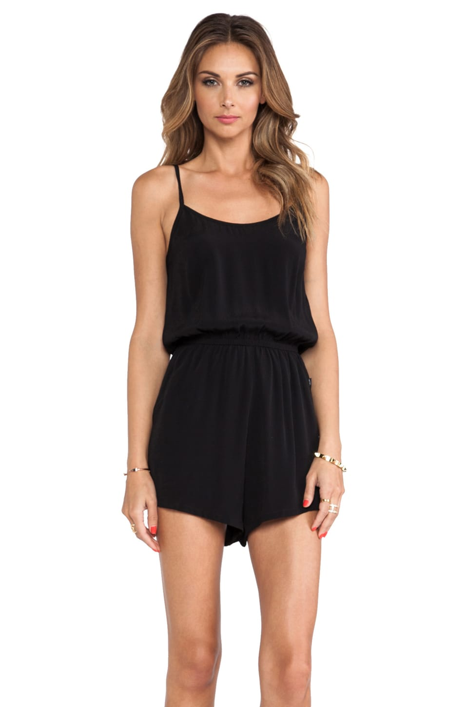 MINKPINK See The World Playsuit in Black