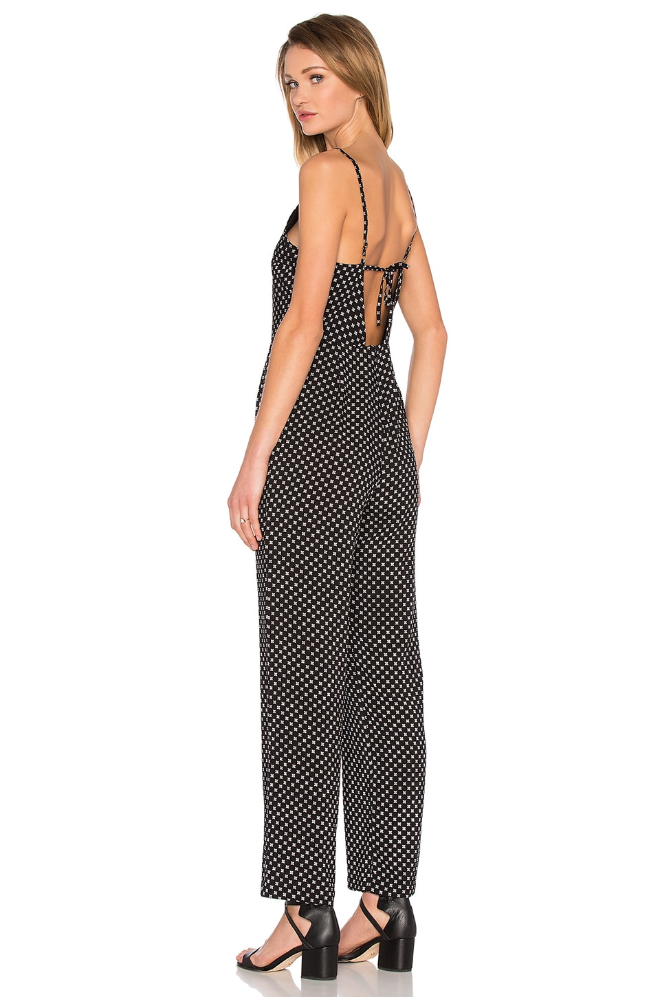 MINKPINK Beautiful Mess Low Back Jumpsuit in Multi