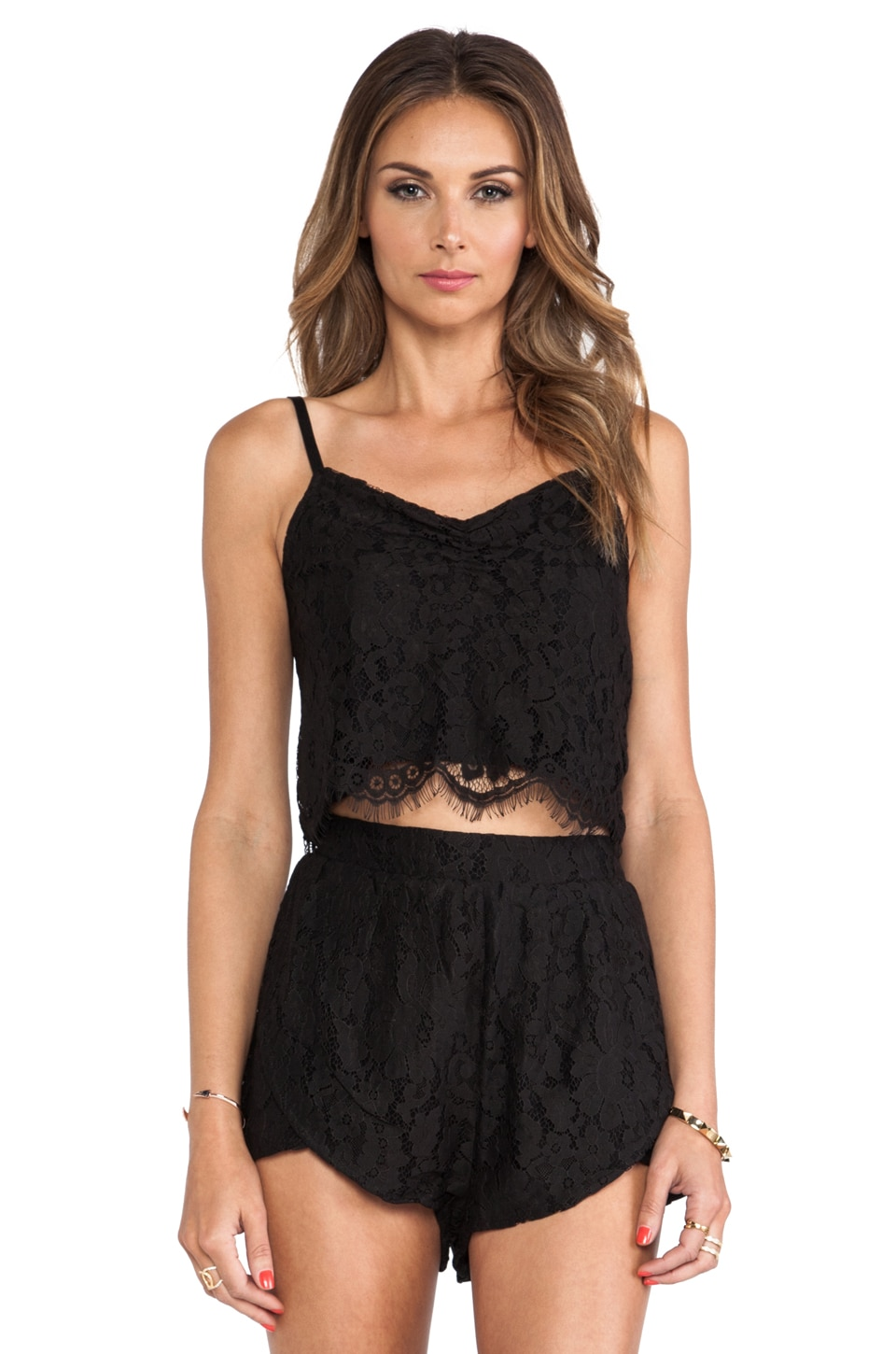 MINKPINK The Days You Feel Alive Cami in Black
