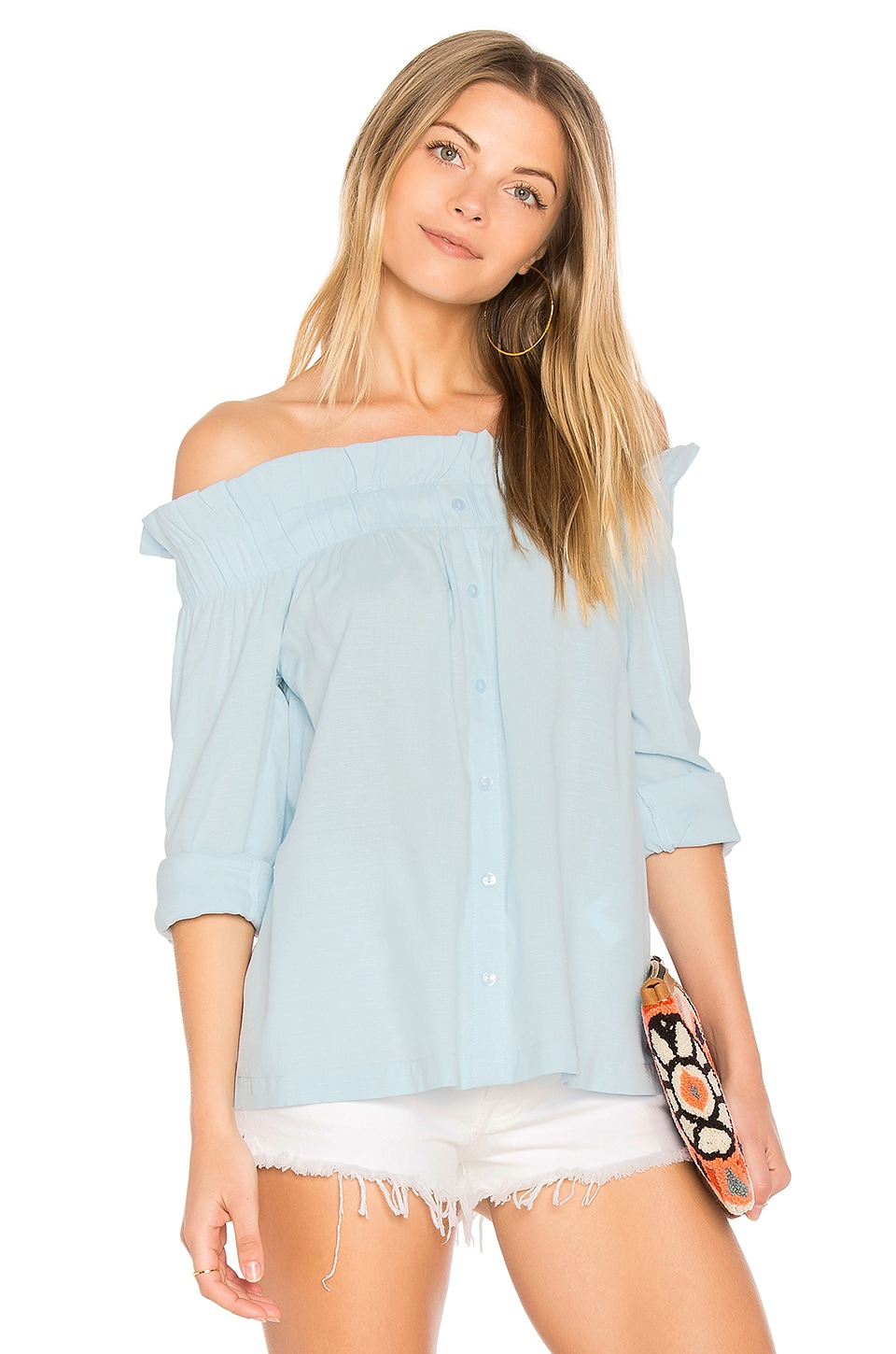 Business Class Off Shoulder Top by Minkpink