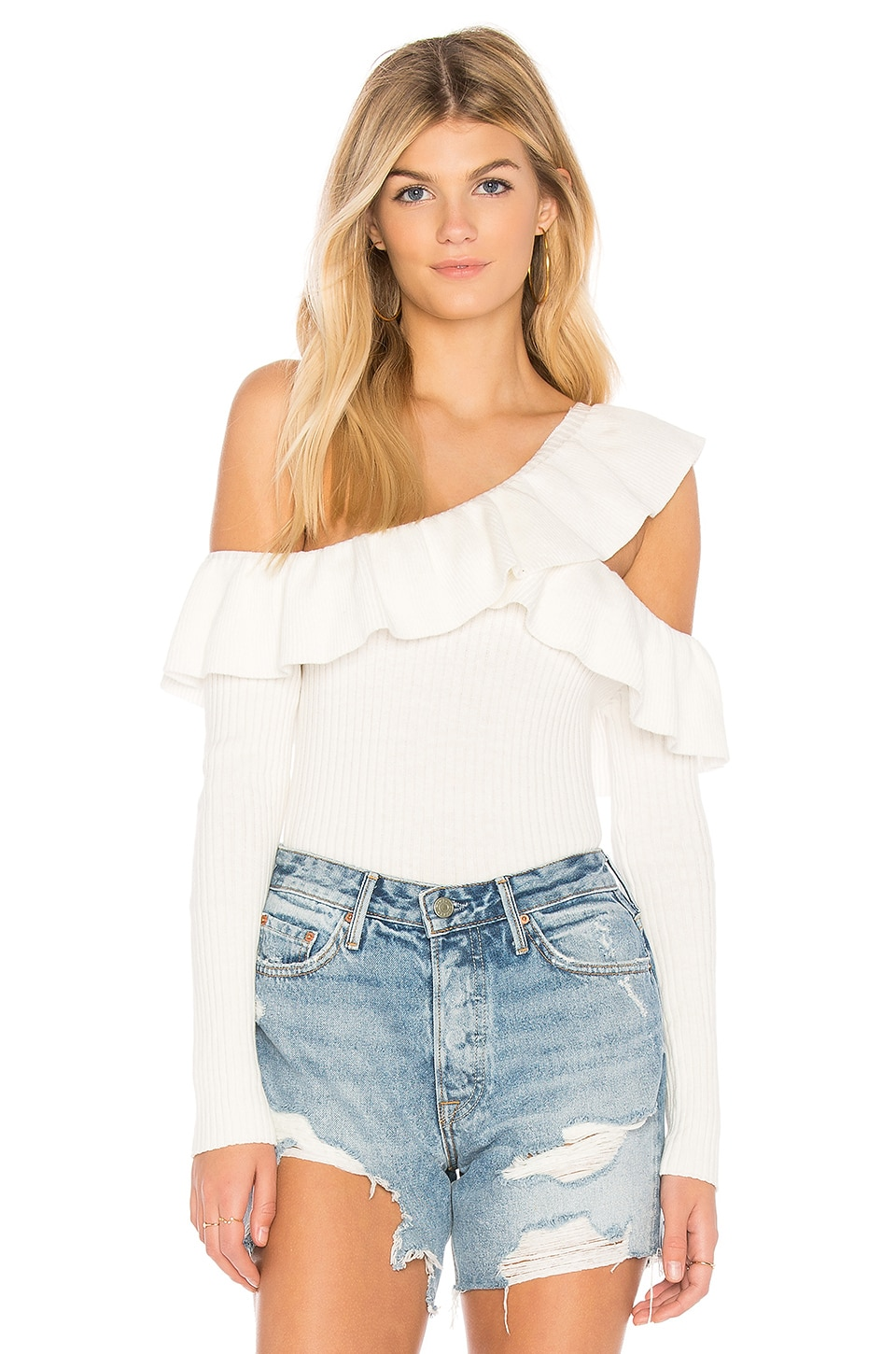 MINKPINK Never Again Top in White