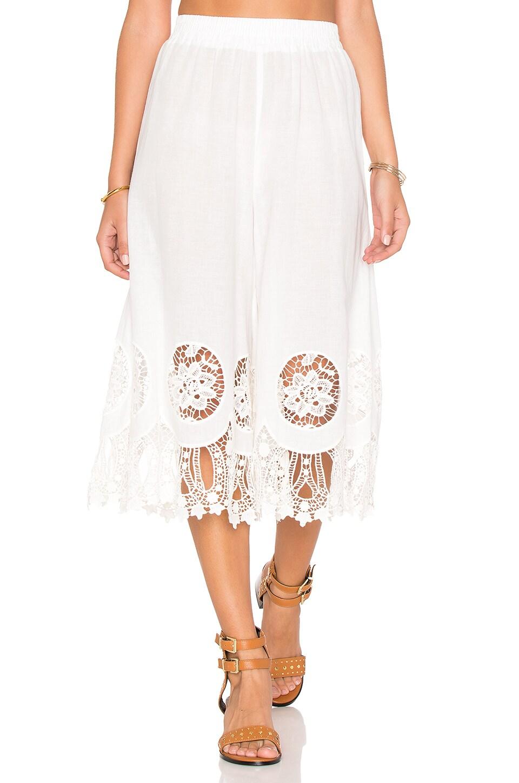 MINKPINK Splendor Falls Culottes in White