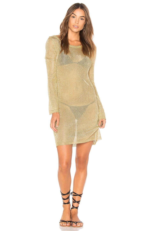 Stay Golden Knit Dress by MINKPINK