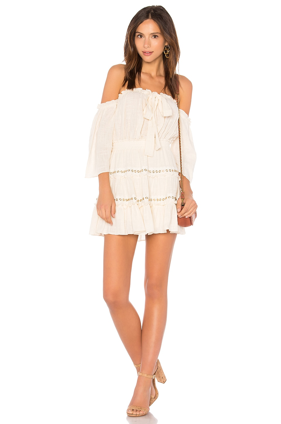 MISA Los Angeles Kerry Dress in Cream