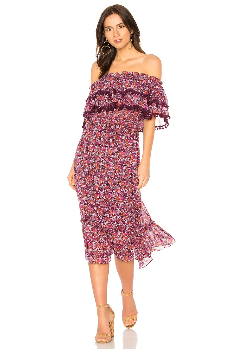 MISA Los Angeles Maribel Dress in Multi