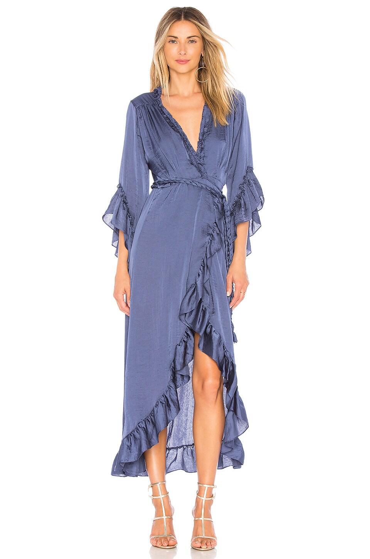 MISA Alina Dress in Cobalt