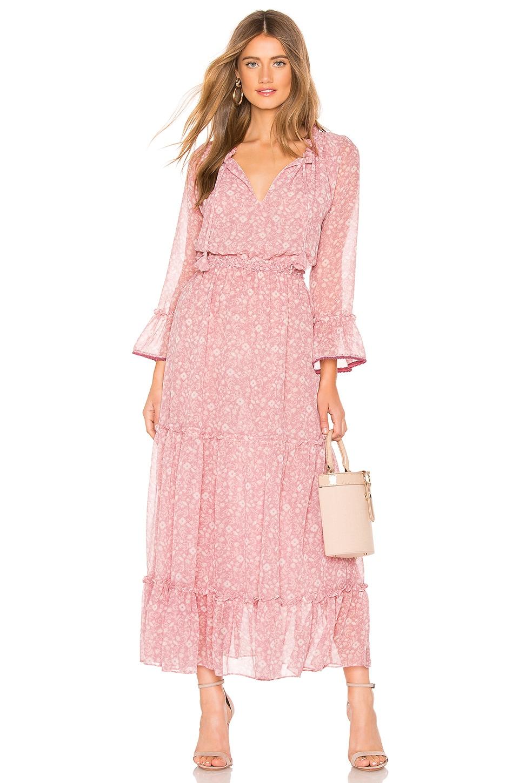 MISA Los Angeles Lucinda Dress in Pink Floral